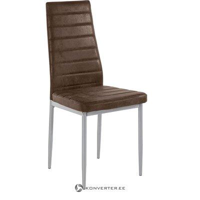 Brūns mīksts krēsls (pārvalks) (neskarts paraugs)