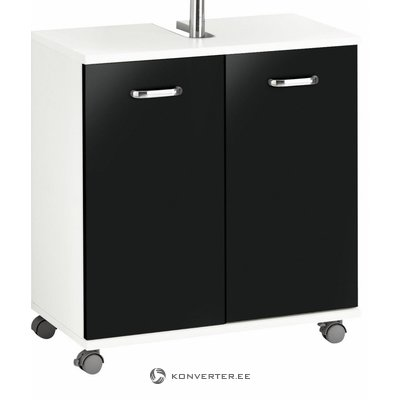 White-black cast iron cabinet (java)