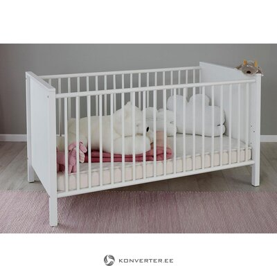 Solid wood white crib (westerland) (in box, whole)