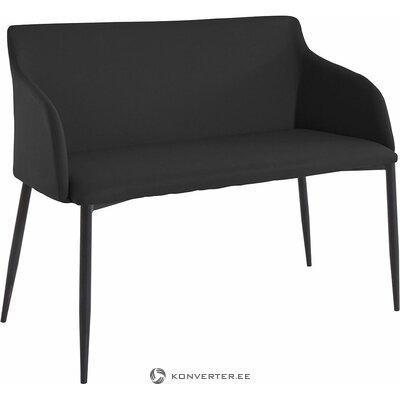 Musta sohva / penkki (breite)