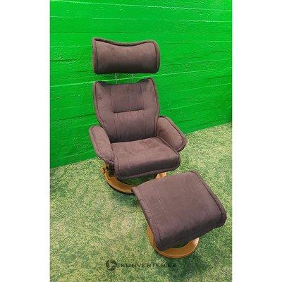 Brown Swinging Armchair