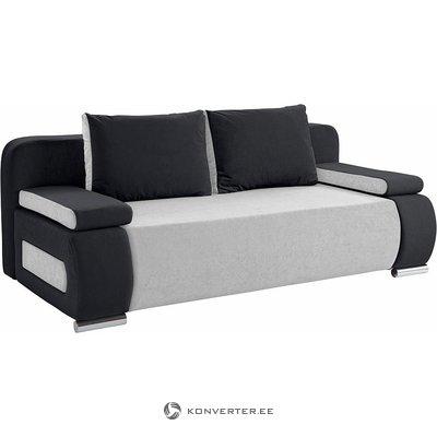 Light gray dttratsite sofa bed