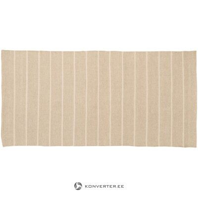 Light brown woven carpet (marinha)