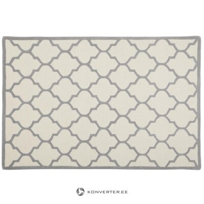 Carpet with gray-beige pattern (matthew)