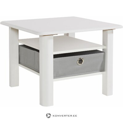 White-brown small coffee table (inosign)