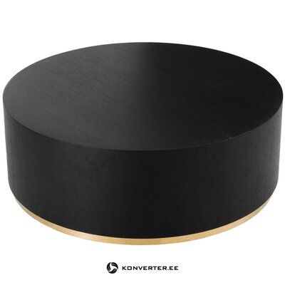 Black-gold coffee table (clarice)