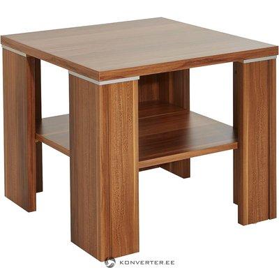 Neliels kafijas galdiņš (tumši brūns, ar bugs, kastē)