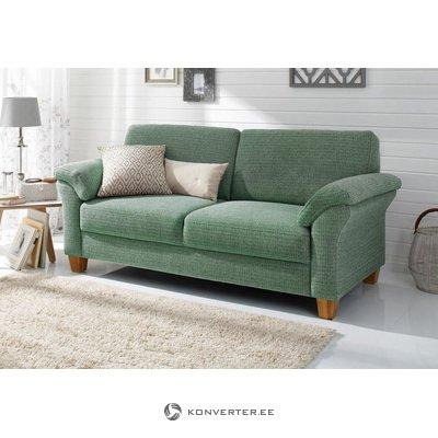Žalia pilka sofa (borkum) (salių pavyzdys, visas)
