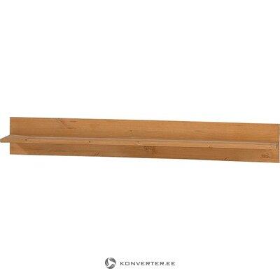 Настенная полка из массива дерева (alby)