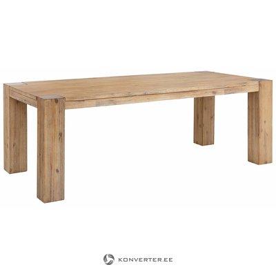 Ruda plačia masyvi mediena valgymui