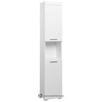 Valkoinen kaappi 2 ovella (amanda) (koko, laatikossa)