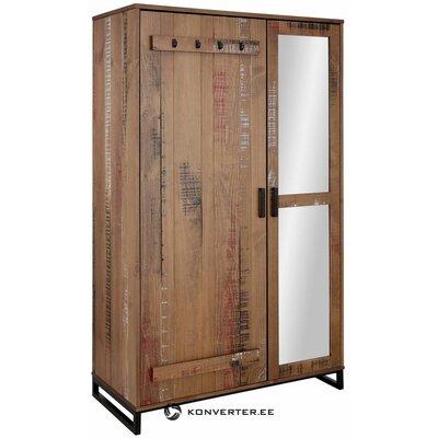 Шкаф коричневый из массива дерева (сантос) (целиком, в коробке)