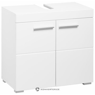 White sink cabinet (amanda) (box, small beauty bug)