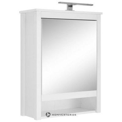 1 Peegeluksega Ja LED Valgustusega Seinakapp (Ole) (Terve, Karbis)