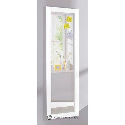 Valkoinen korkea peili (rondo). (nainen)