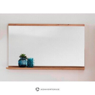Brūns sienas spogulis (nala) (ar defektu, zāles paraugs)