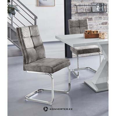 Light gray chair (lale) (hall sample small beauty defect)