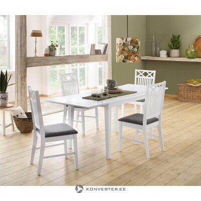Надставка для стола белая
