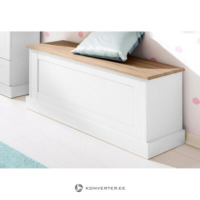 White storage box with lid (whole ,, in a box)