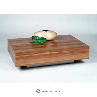 Small coffee table (inosign) (brown, healthy, showcase)