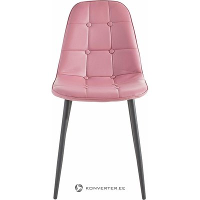 Pink-black chair