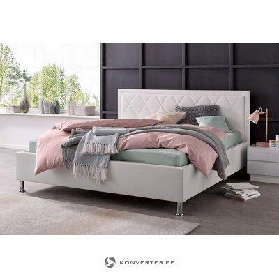 Valkoinen sänky (180x200) (johanna) (laatikossa, jossa on kauneusvirheitä)