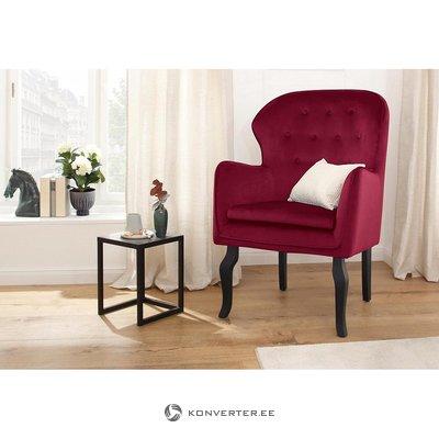 Sarkanā samta krēsls (Hjūstona) (vesels, paraugu zāle)