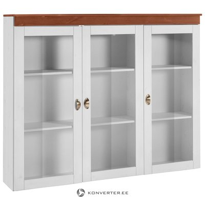 White display cabinet (Oslo)