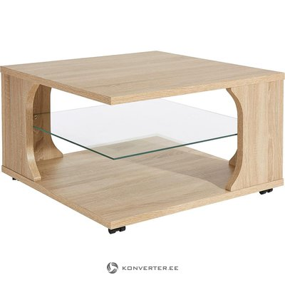 Brown coffee table (whole, in box)