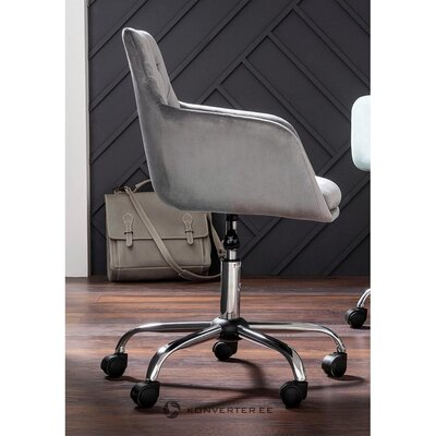 Gray office chair (perry)