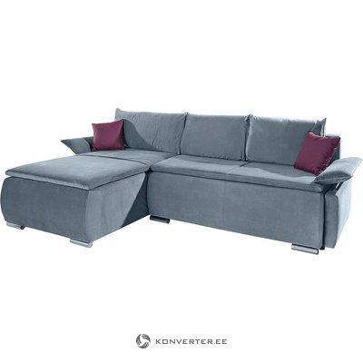Светло-серый угловой диван