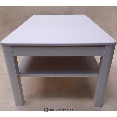 White coffee table (hall sample, whole)