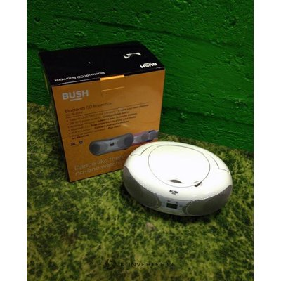 White radio and CD player with Bluetooth Bush CD-78-BTFM (CD does not work)