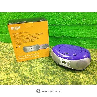 Lilla Bluetoothiga magnetoola Bush CD-78-BTFM (CD ei tööta)