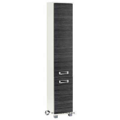 Gray-white high cabinet