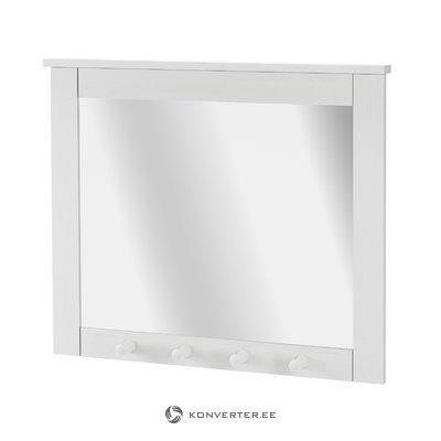 Зеркало Густава - белый лак