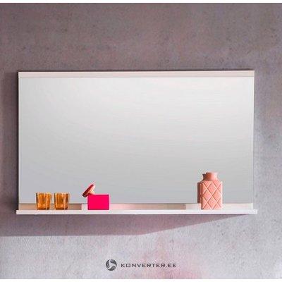 Valkoinen peili hyllyllä (nala) (kokonainen, laatikossa)