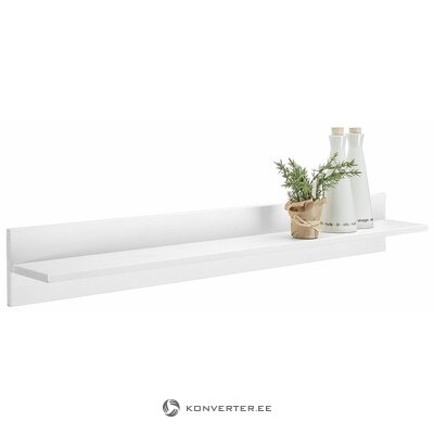 White wall shelf (oslo)