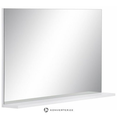 White mirror with shelf (amanda) (beauty defects, in box)