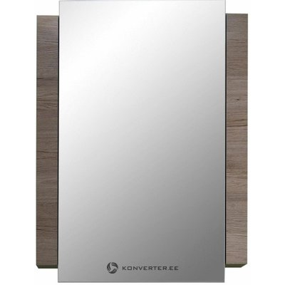 Brown-white bathroom mirror (campus) (hall sample, with beauty defect,)