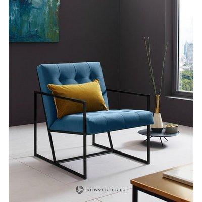 Sinine Sametine Tugitool (Lounge-Chair) (Saalinäidis, Terve)