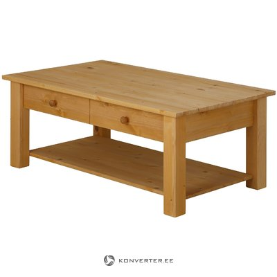 Yvonne Coffee Table large stain/wax