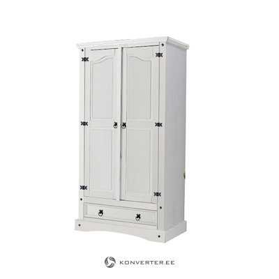MEXICO Wardrobe 2d-white/lacq