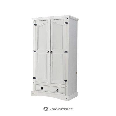 MEXICO Wardrobe2d-white/lacq