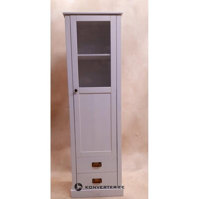 White display cabinet (with defects., Hall sample)