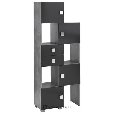 Gray-black folding cupboard