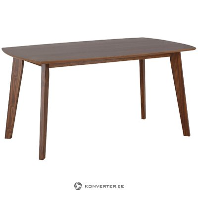San Dining Table 150 cm - Walnut