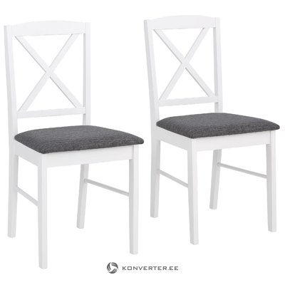 Sori Chair 2 pack Fabric - White