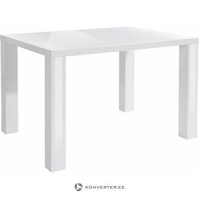 Snow Table 120x90cm - White/High Gloss