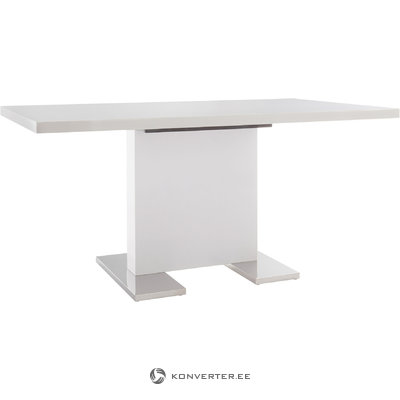 Spring Table 160x90cm-White/High Gloss